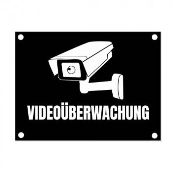 Türschild Aluminium 15x20 cm Video