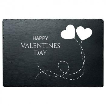 Schieferplatte Valentins Day 20x30 cm