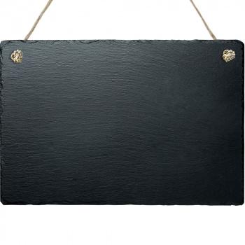 Grabplatte mit Kordel zum selbst gestalten 20x30 cm