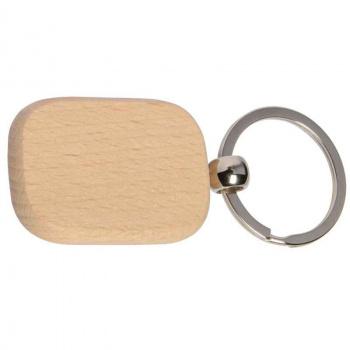 Holz-Schlüsselanhänger 3x4,5 cm zum selbst gestalten