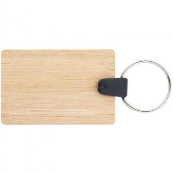 Holz-Schlüsselanhänger 3,5x5,3 cm zum selbst gestalten